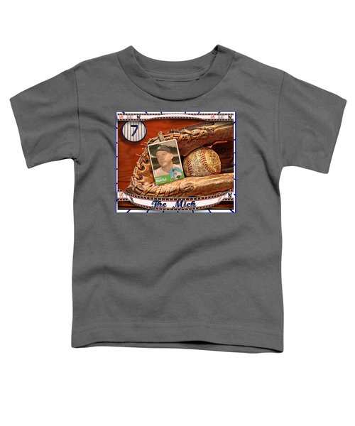 The Mick Toddler T-Shirt by John Anderson