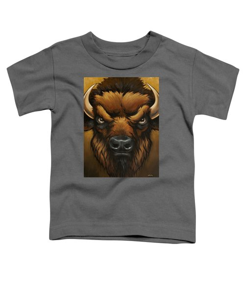 The Mighty Bison Toddler T-Shirt