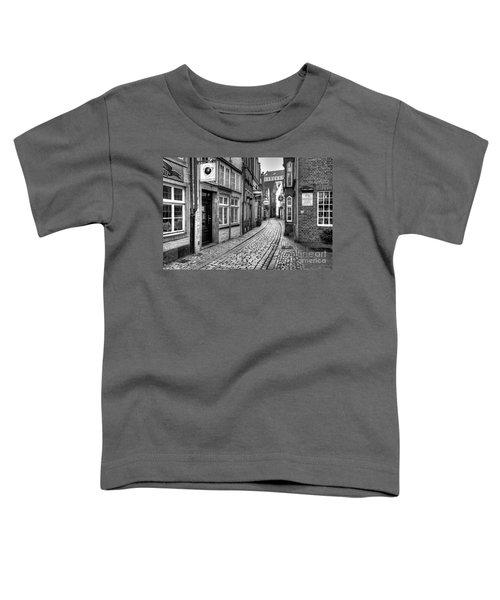 The Narrow Cobblestone Street Toddler T-Shirt