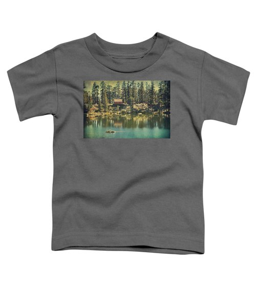 The Old Days By The Lake Toddler T-Shirt