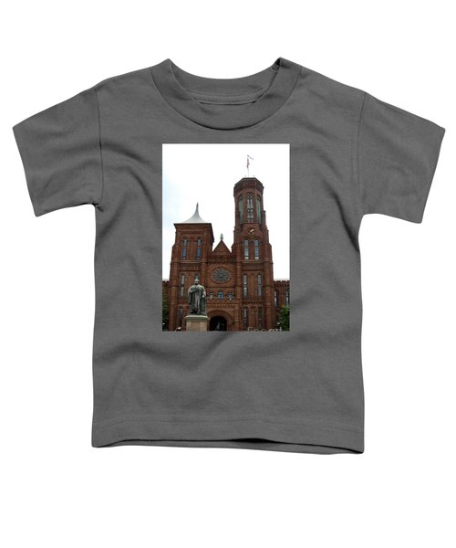 The Smithsonian - Washington Dc Toddler T-Shirt by Christiane Schulze Art And Photography