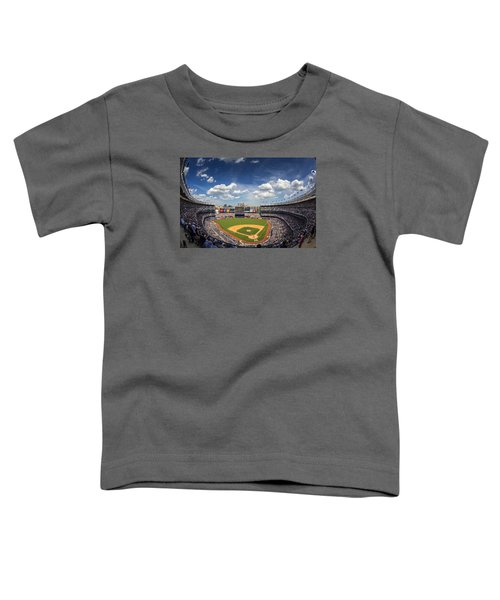 The Stadium Toddler T-Shirt by Rick Berk