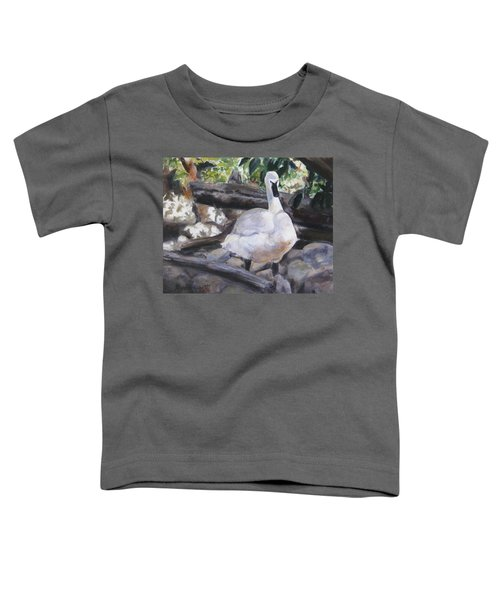 The Swan Toddler T-Shirt