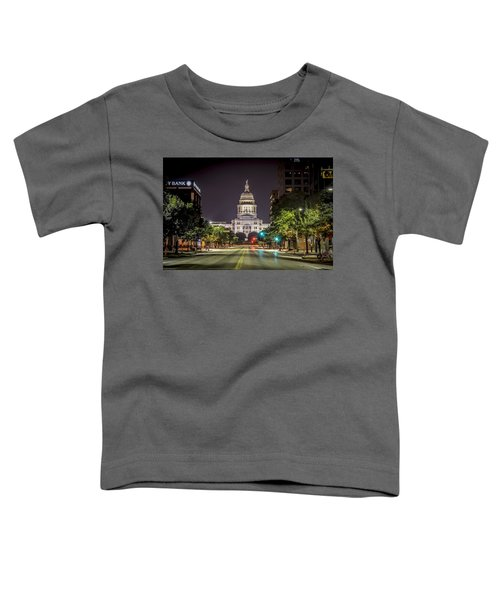 The Texas Capitol Building Toddler T-Shirt