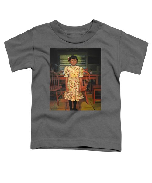 The Valentine Dress Toddler T-Shirt by Thu Nguyen