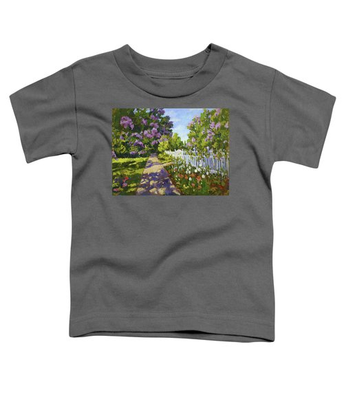 The White Fence Toddler T-Shirt