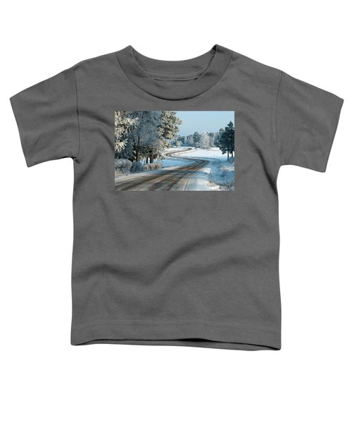 The Winding Road Toddler T-Shirt