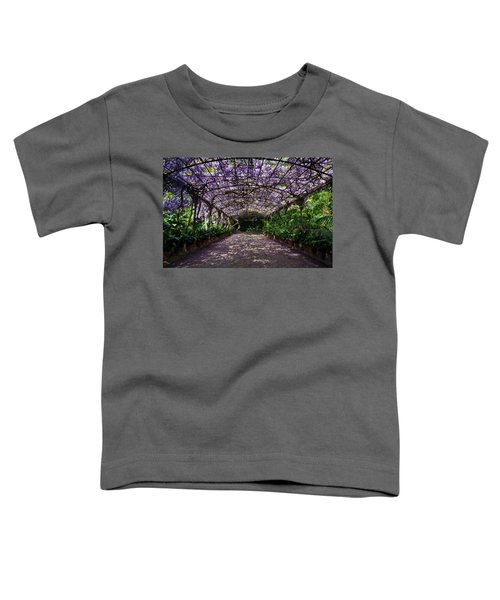 The Wisteria Arbour In Full Bloom Toddler T-Shirt