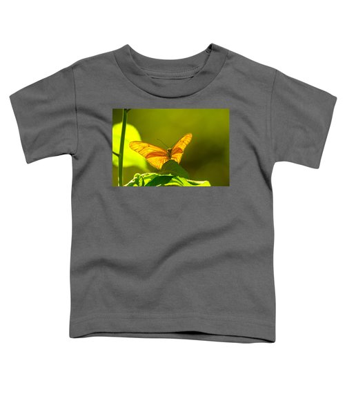 Then A Butterfly Toddler T-Shirt