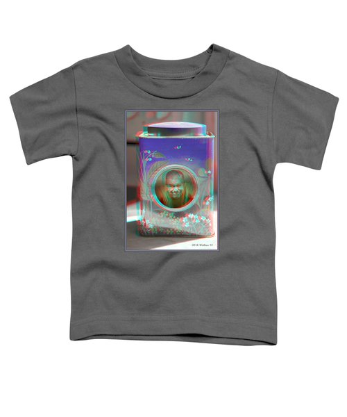 Thinking Inside The Box - Red/cyan Filtered 3d Glasses Required Toddler T-Shirt