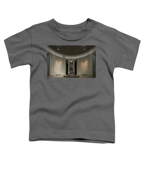 Toddler T-Shirt featuring the photograph Thomas Jefferson Memorial At Night by Sebastian Musial