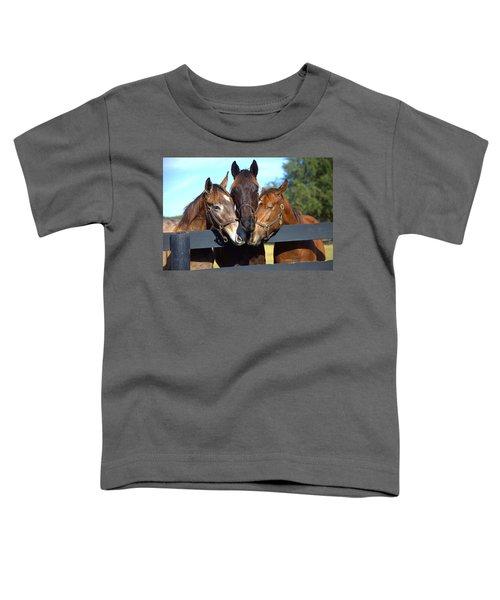 Three Friends Toddler T-Shirt