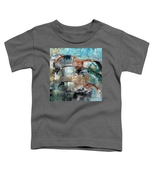 Three Running Horses Toddler T-Shirt