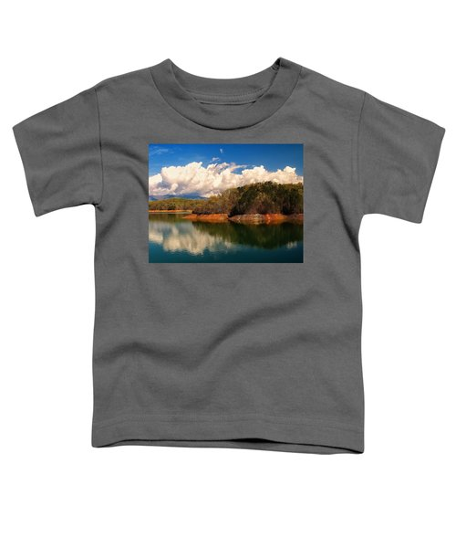 Thunderstorm Rolling Over The Smokies Toddler T-Shirt