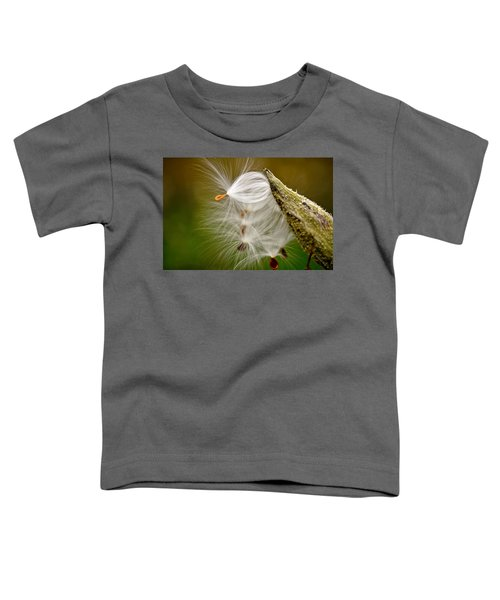 Toddler T-Shirt featuring the photograph Time For Me To Fly by Andrea Platt
