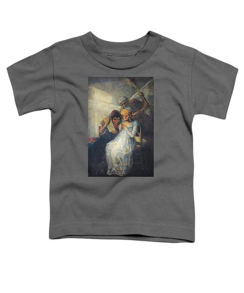 Time Of The Old Women, 1820 Oil On Canvas Toddler T-Shirt