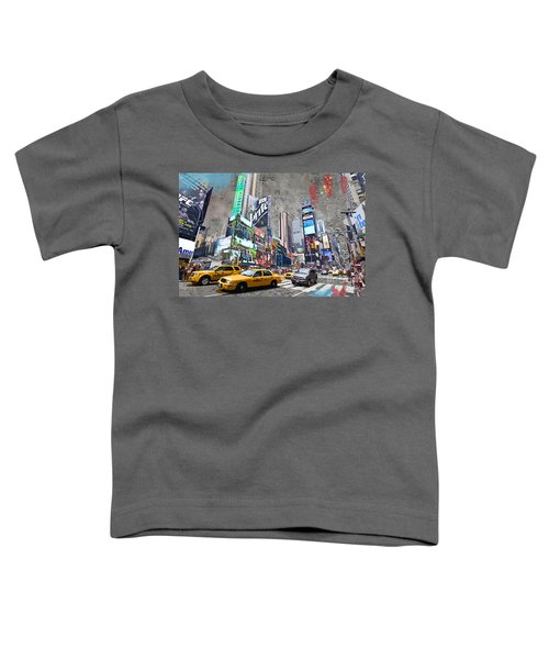 Times Square Street Creation Toddler T-Shirt