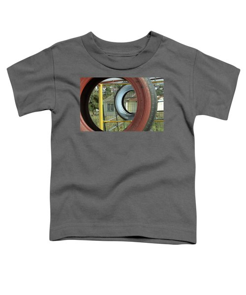 Tires In An Orphanage Toddler T-Shirt