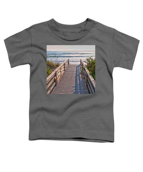To The Beach Toddler T-Shirt