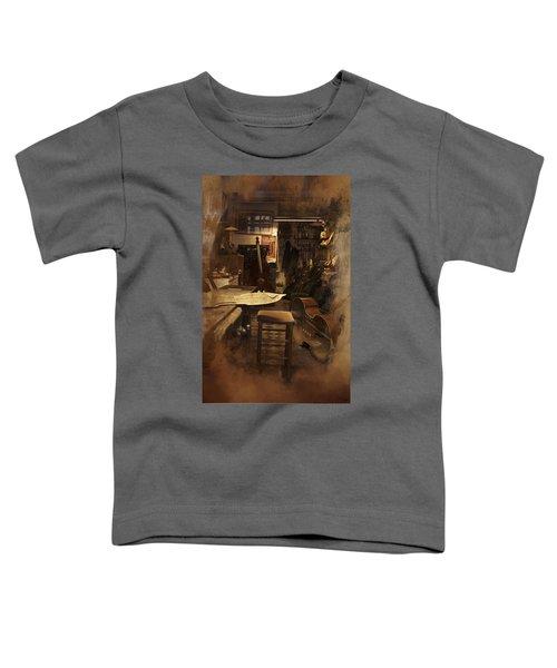 Tobacco Cello Toddler T-Shirt