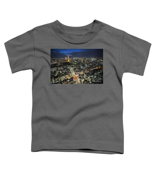Tokyo Tower At Night Toddler T-Shirt