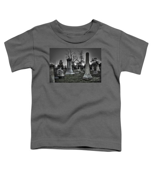 Tombstones And Tree Skeletons Toddler T-Shirt