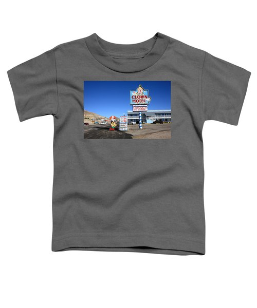 Tonopah Nevada - Clown Motel Toddler T-Shirt