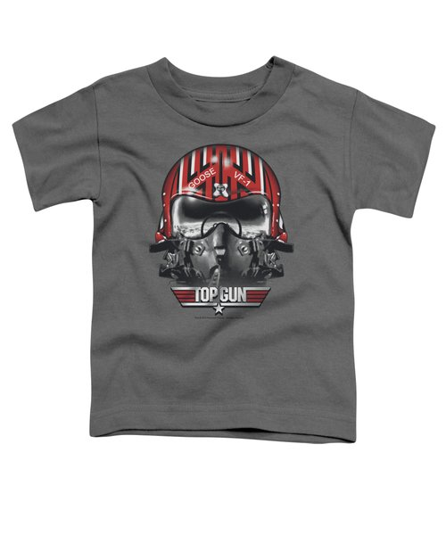 Top Gun - Goose Helmet Toddler T-Shirt by Brand A