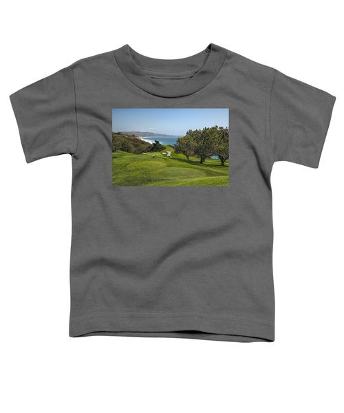 Torrey Pines Golf Course North 6th Hole Toddler T-Shirt