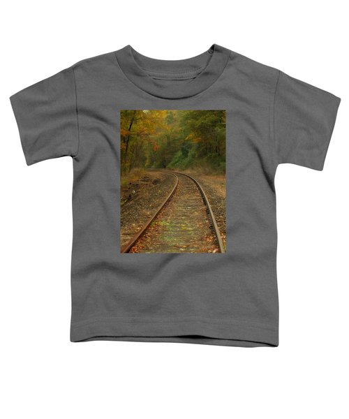 Tracking Thru The Woods Toddler T-Shirt