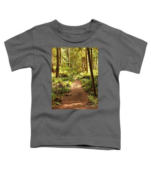Trail Through The Rainforest Toddler T-Shirt