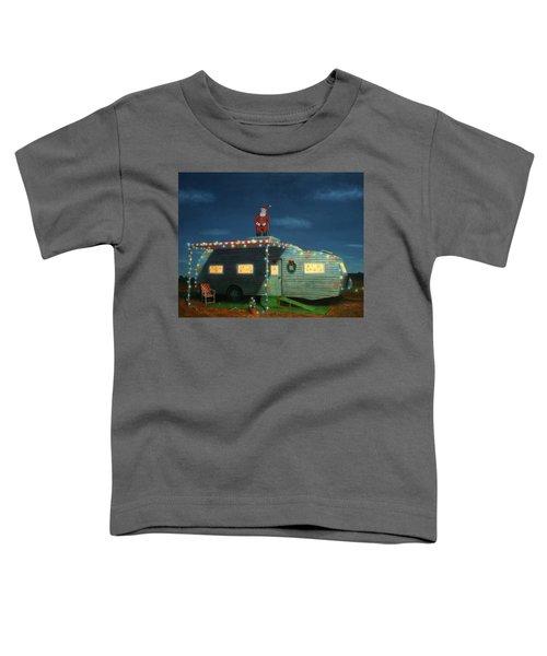 Trailer House Christmas Toddler T-Shirt