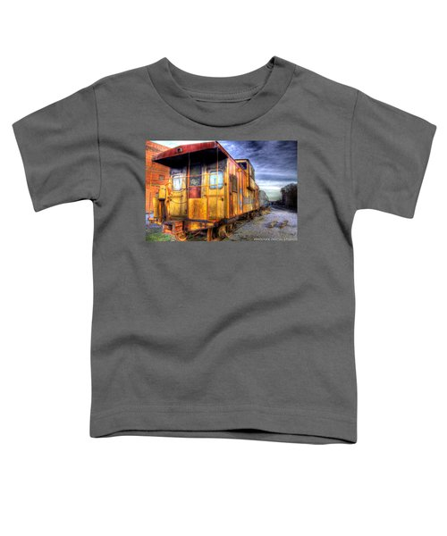 Train Caboose Toddler T-Shirt