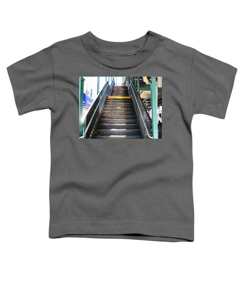 Train Staircase Toddler T-Shirt