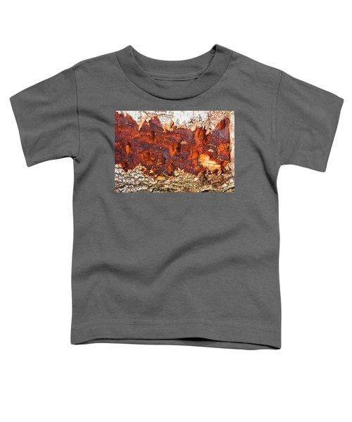 Tree Closeup - Wood Texture Toddler T-Shirt