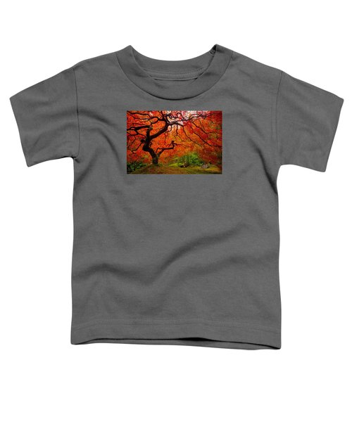 Tree Fire Toddler T-Shirt