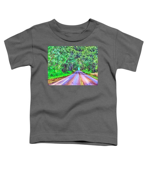 Tree Tunnel Kauai Toddler T-Shirt