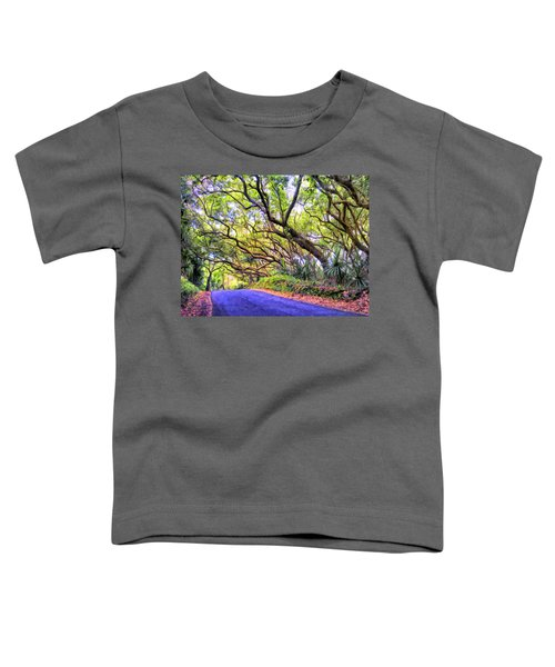 Tree Tunnel On The Big Island Toddler T-Shirt