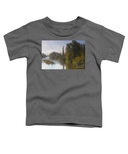 Trees A View From Usk Bridge Toddler T-Shirt