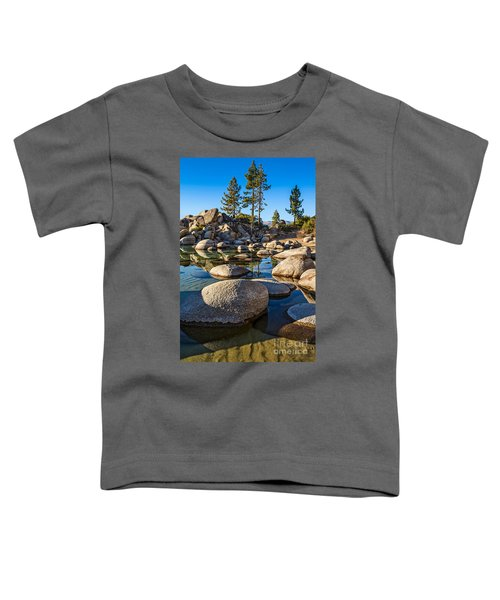 Trees And Rocks Toddler T-Shirt
