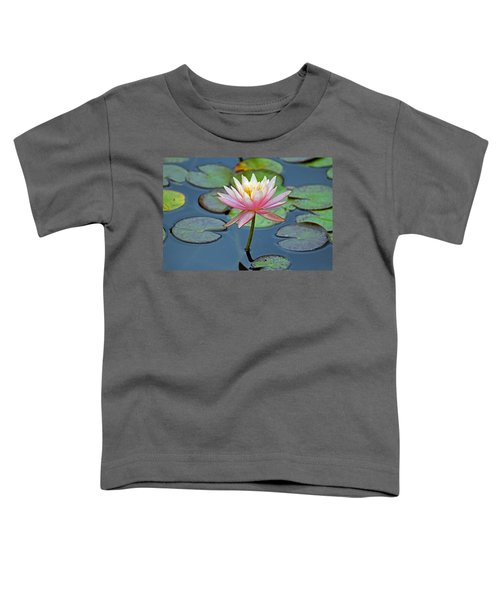 Tropical Pink Lily Toddler T-Shirt