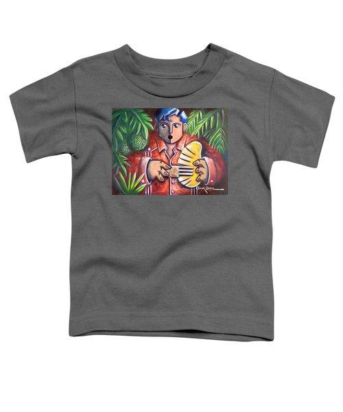 Trovador De La Pana Toddler T-Shirt