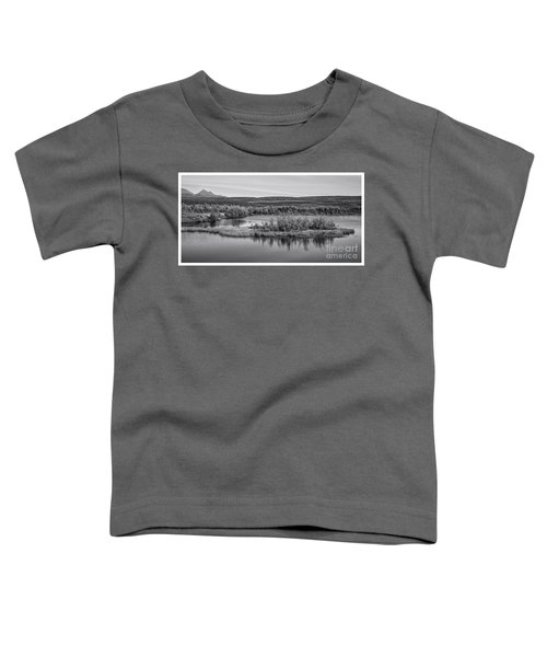 Tundra Pond Reflections Toddler T-Shirt