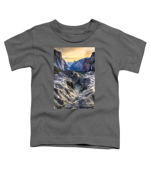 Tunnel View Toddler T-Shirt