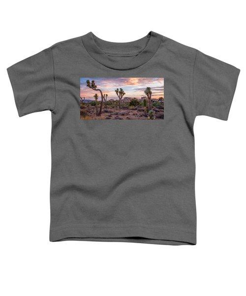 Twilight Comes To Joshua Tree Toddler T-Shirt