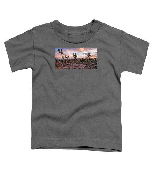 Twilight Comes To Joshua Tree Toddler T-Shirt