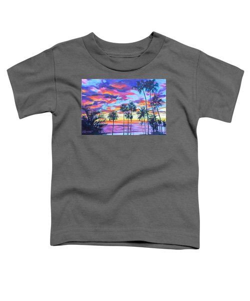 Twilight Palms Toddler T-Shirt