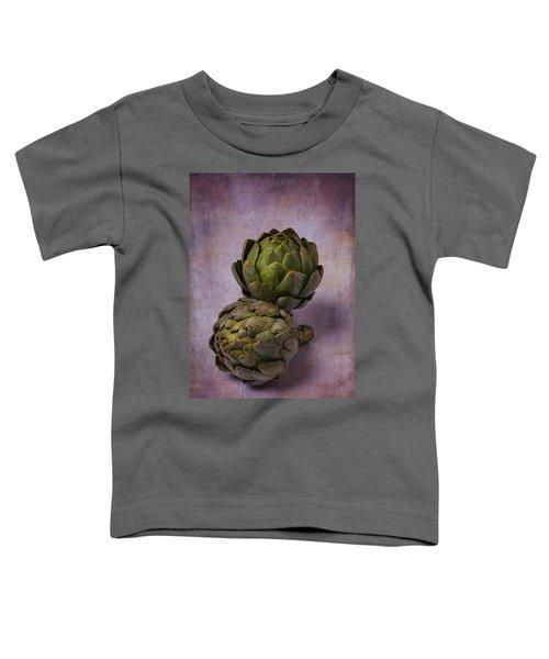 Two Artichokes Toddler T-Shirt