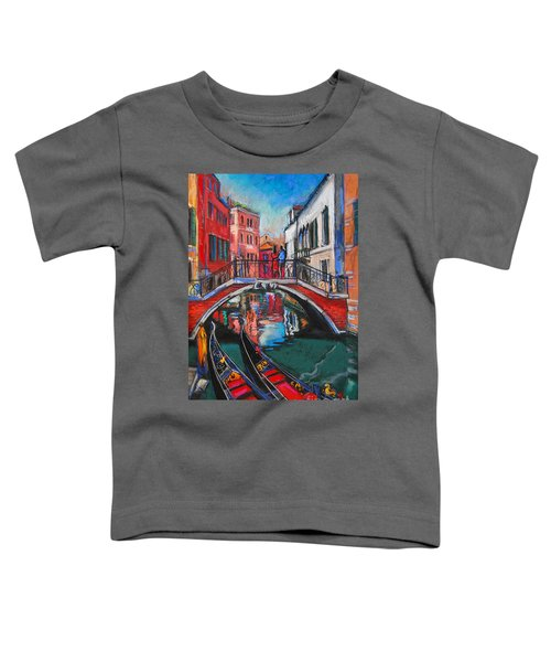 Two Gondolas In Venice Toddler T-Shirt