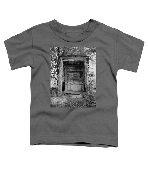 Two-seater Outhouse Toddler T-Shirt